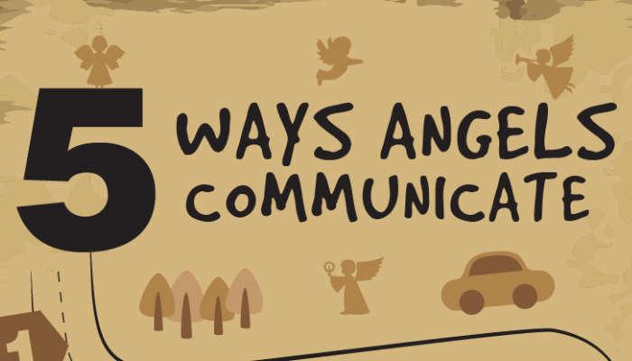 five ways angels communicate