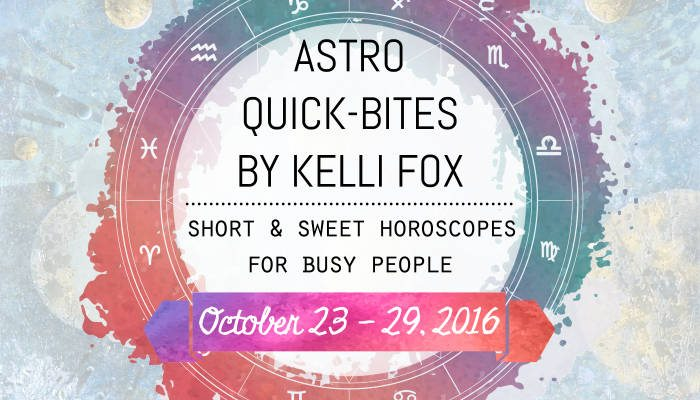 astro quick bites by kelli fox