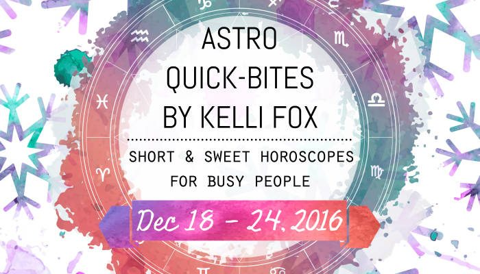 astro quick bites by kelli fox - dec 18