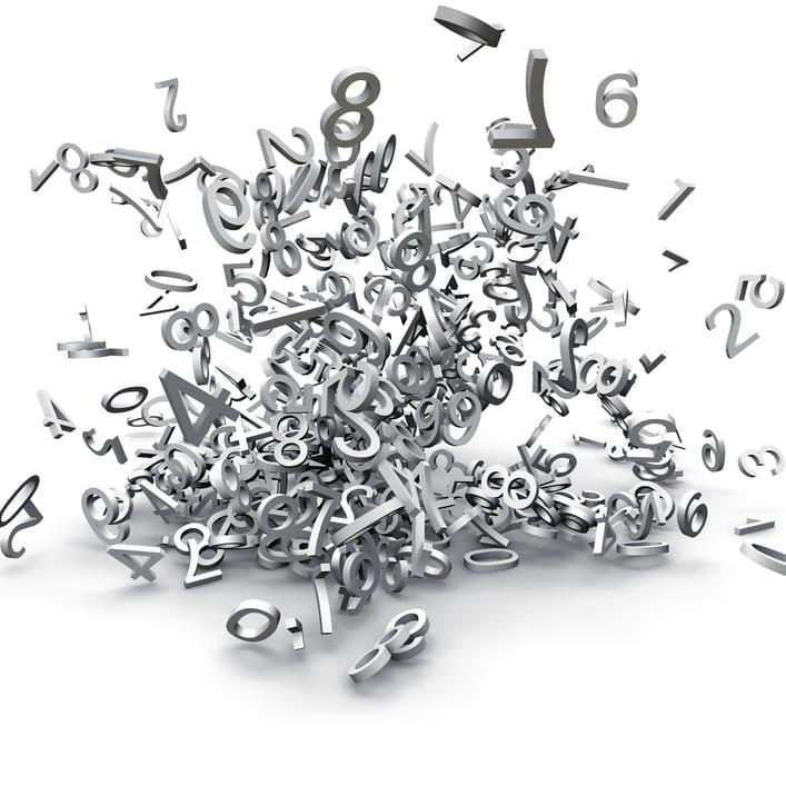 jumbled numbers - karmic numbers