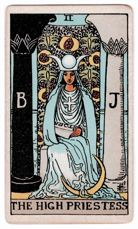 Your Tarot Birth Card - Life Path 2: The High Priestess