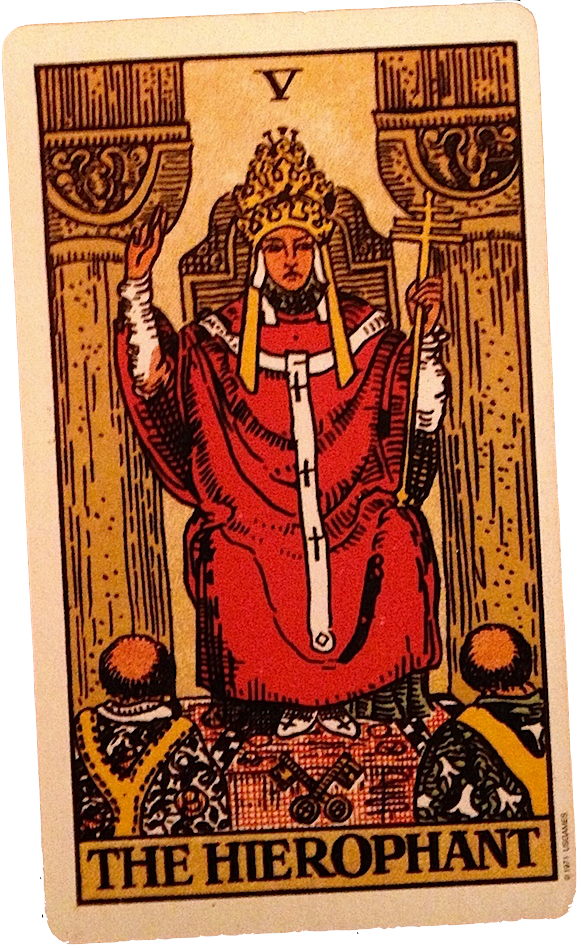 The-Hierophant-tarot-card