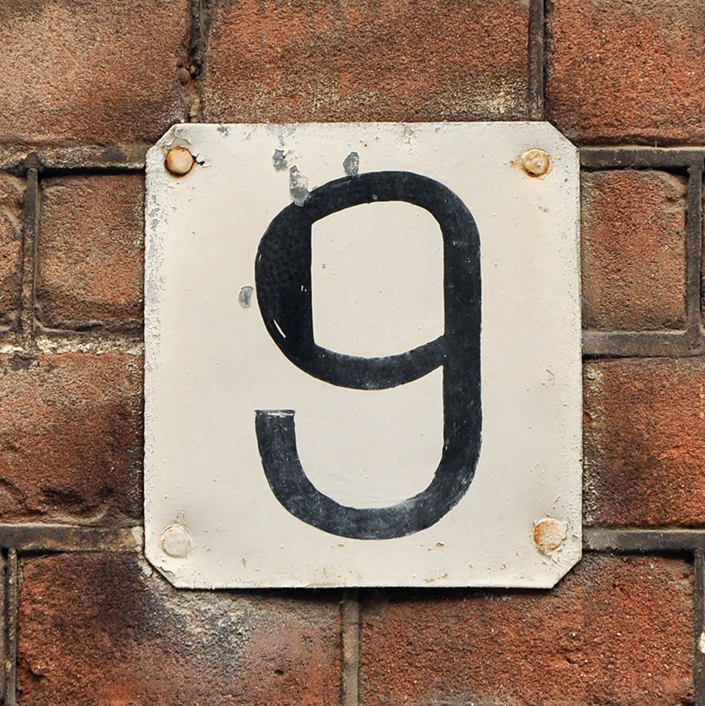 9 house number meaning