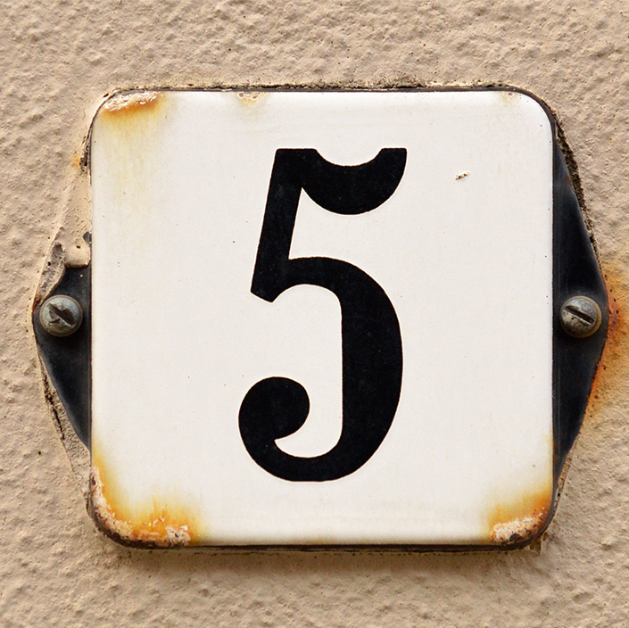 5 house number meaning