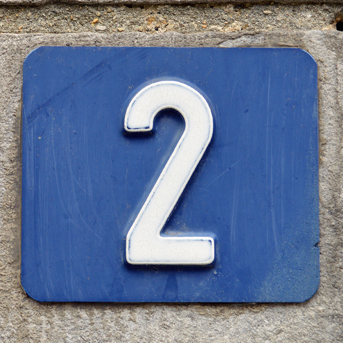 2 house number meaning
