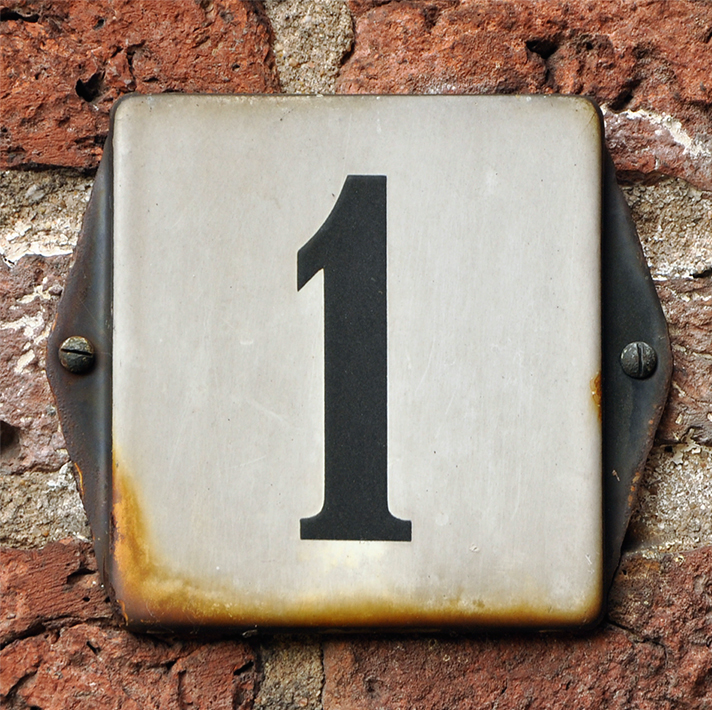 1 house number meaning