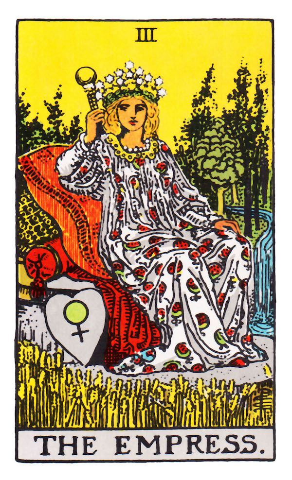 the empress - tarot