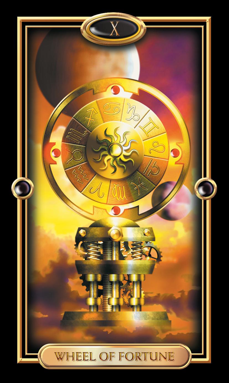 Major Arcana The Wheel Of Fortune Numerologist Com