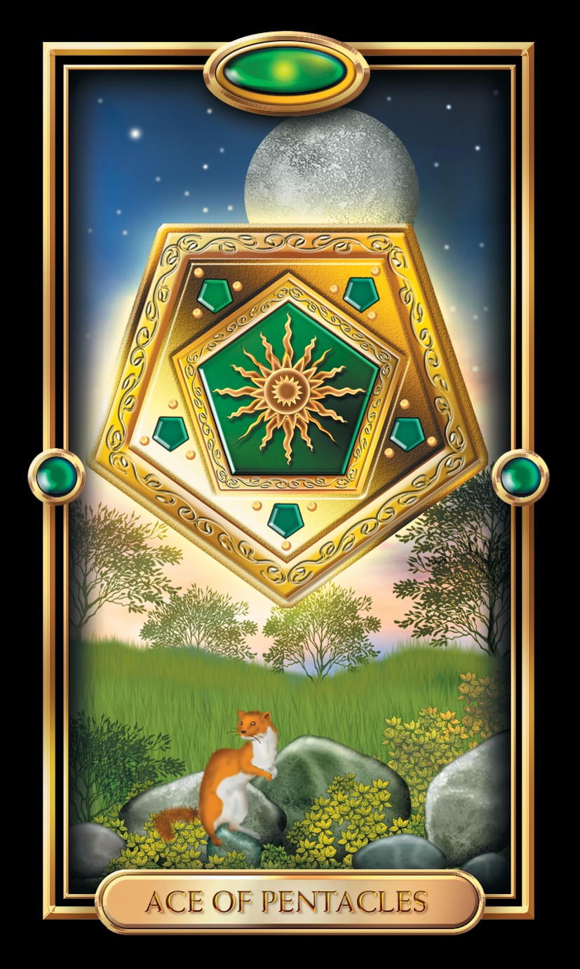 Minor Arcana - Ace of Pentacles - Numerologist com