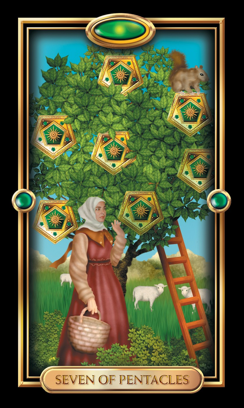 Minor Arcana: Seven Of Pentacles