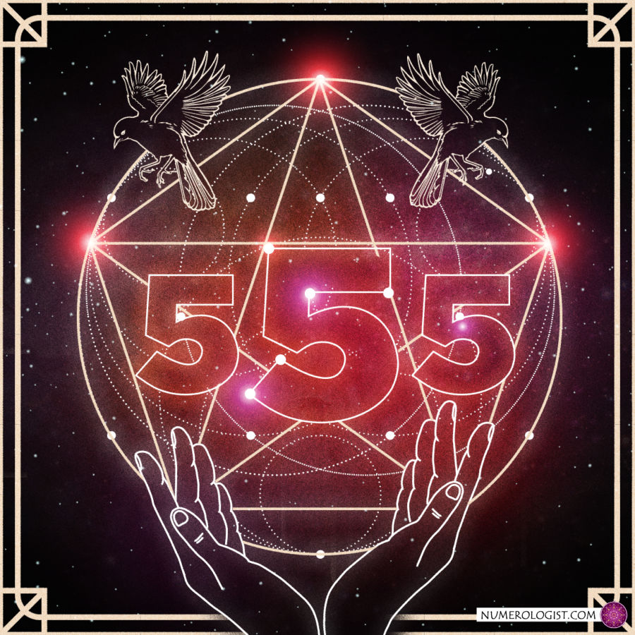 555 in numerology