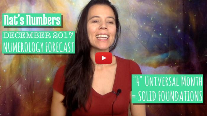 December 2017 Numerology Forecast