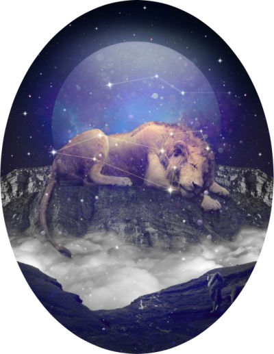 Supermoon in Leo