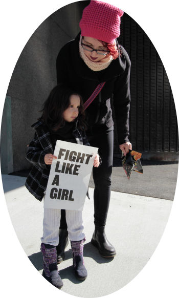 Fight like a girl - Internationall Women's Day