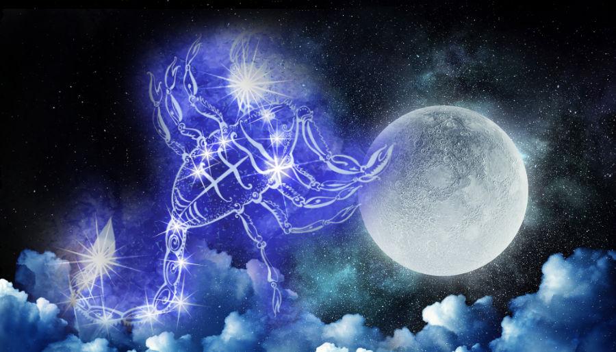 Image result for scorpio full moon