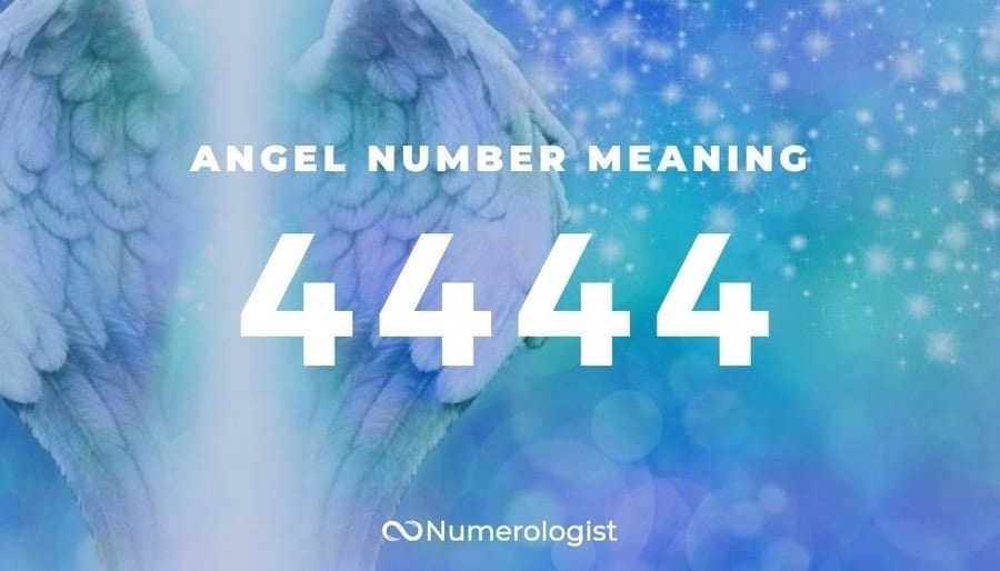 The Real Meaning of Angel Numbers 44, 444, 4444 (Repeating