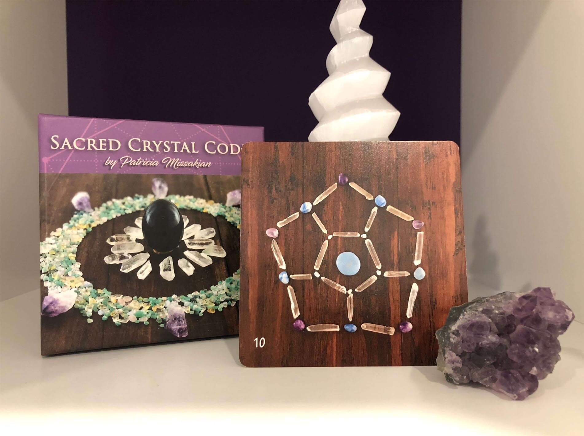 sacred crystal grid of surrender
