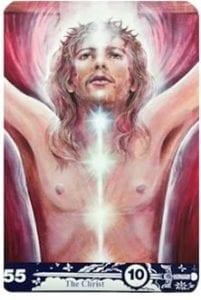aura soma angel cards the christ