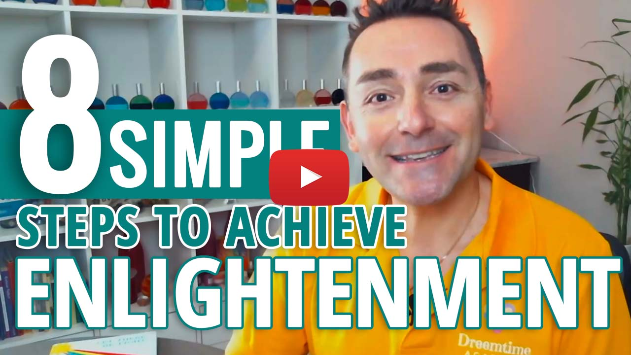 youtube video thumbnail -steps to enlightenment