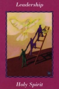 angel card - leadership holy spirit