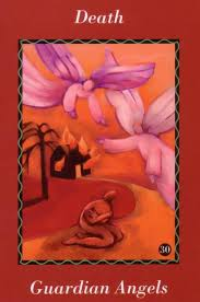 angel card - death guardian angels