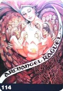 archangel raguel angel aura soma card