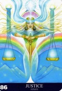 Justice Angel Aura Soma Card