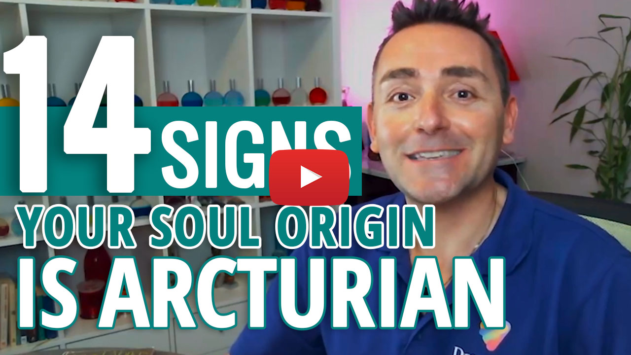 youtube video thumbnail - arcturian starseed soul