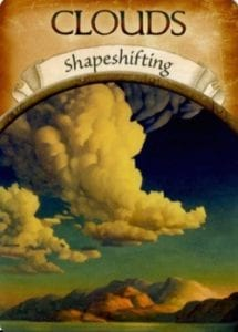 clouds shapeshifting angel cards oracle cards