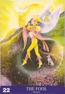 aura soma card angel card the fool