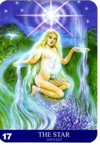aura soma oracle card - the star