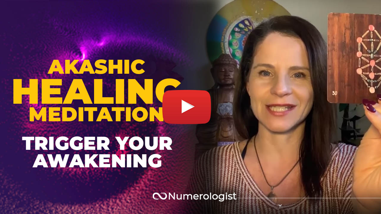 Akashic Clearing Meditation YouTube Thumbnail - Patricia Missakian