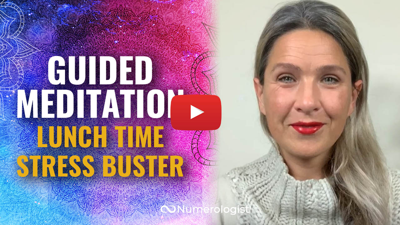 guided meditation lunch time stress buster
