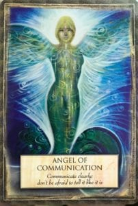 angel message communication