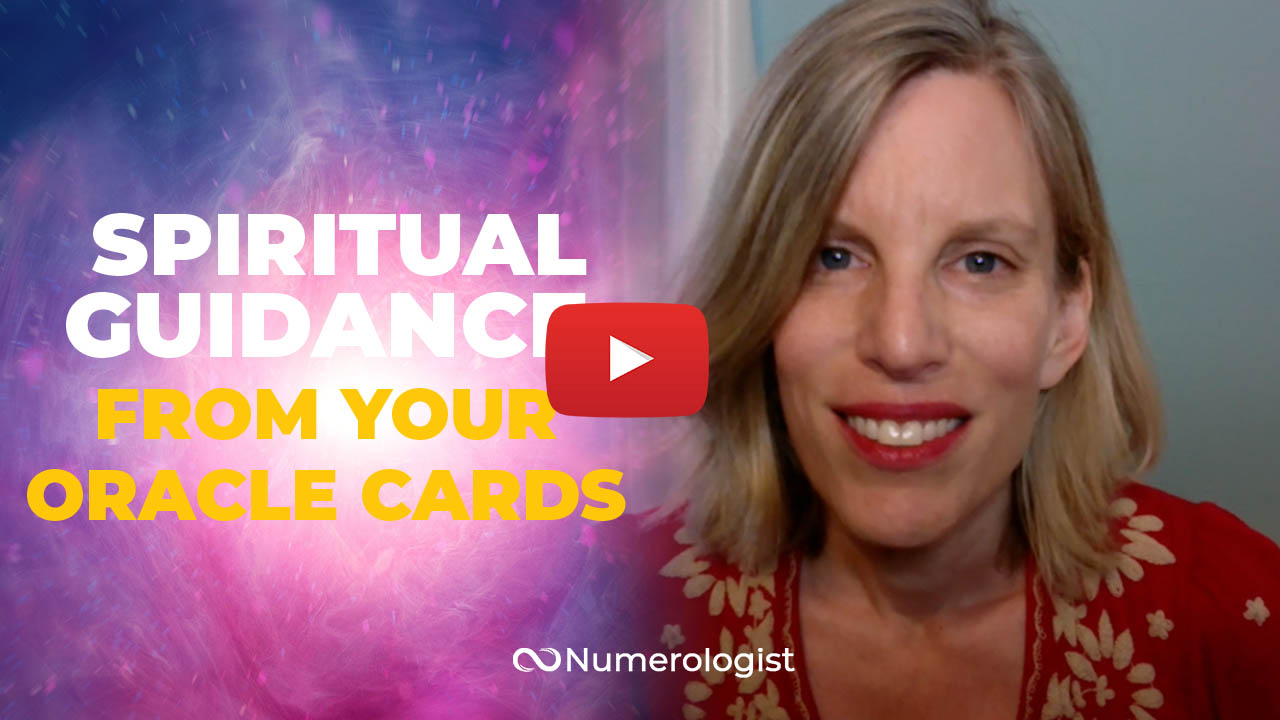 use your oracle cards to receive spiritual guidance