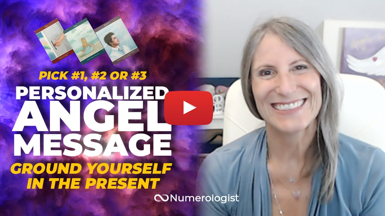 angel message focus on the present