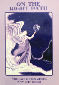Angel Message You Are On the Right Path