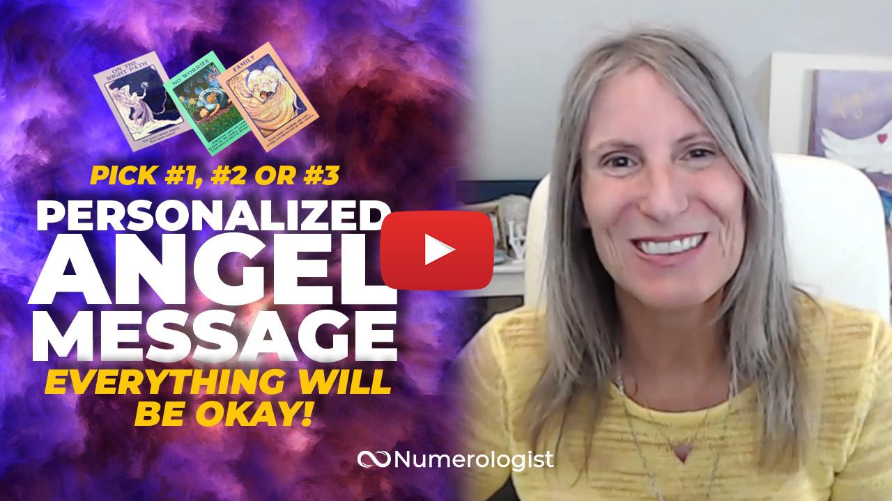 angel message no worries!