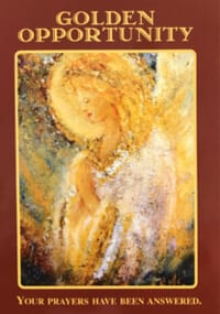 angel message golden opportunity