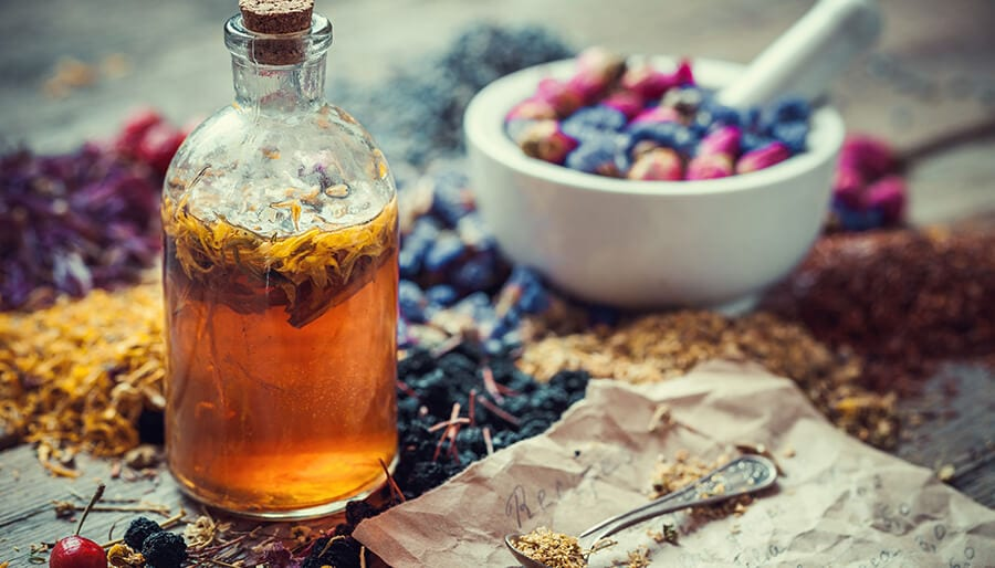 Make your own witch's bottle