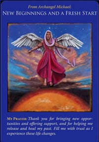 Angel messages new beginnings