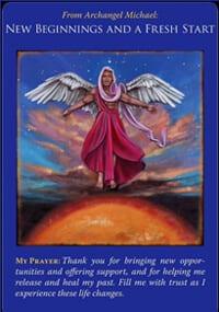 Angel messages new beginnings