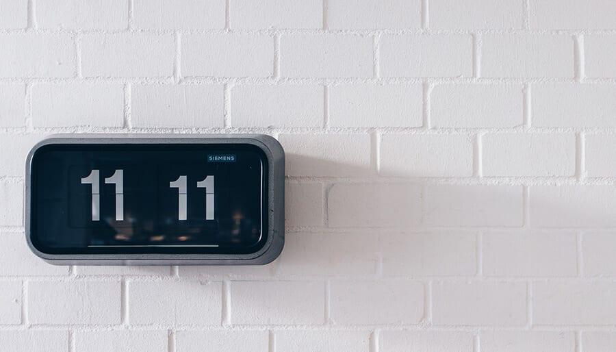 11:11 number pattern